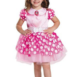 NEW Disguise Toddlers Pink Minnie Mouse Costume